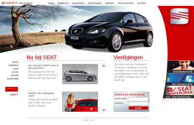 seat nederland screenshot